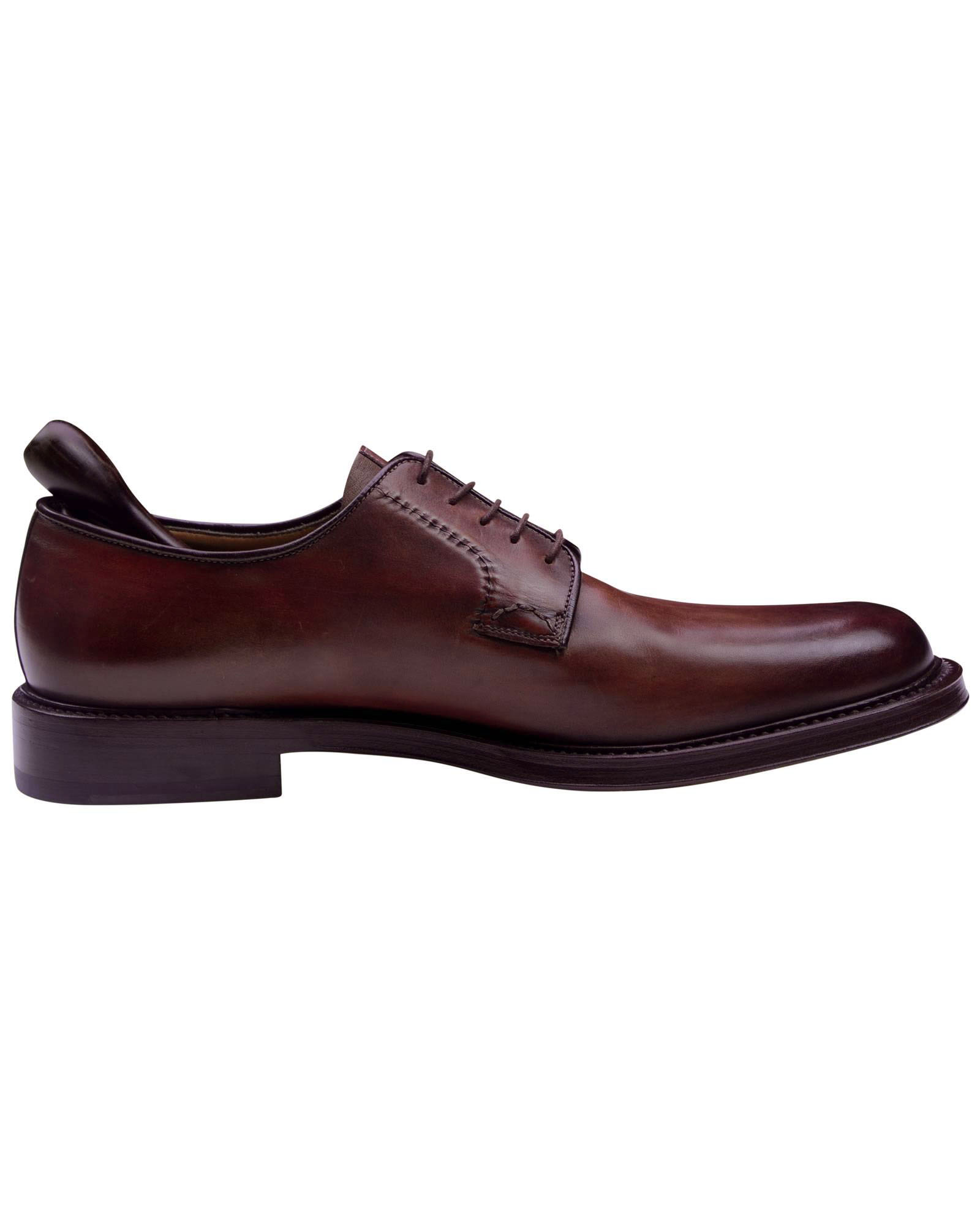 Santoni Brown Dress Shoes