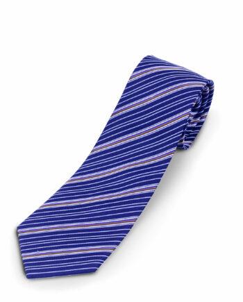 Dsquared Golden Brown skinny Silk Tie