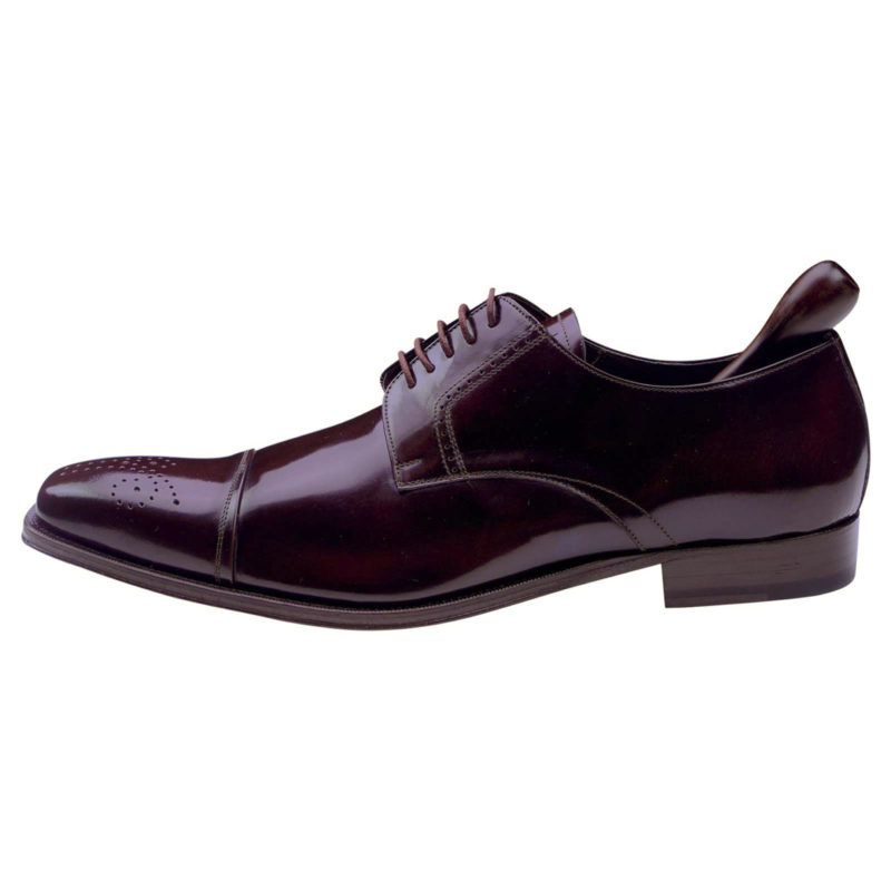 Mezlan Burgundy Brown Lace Up Shoes