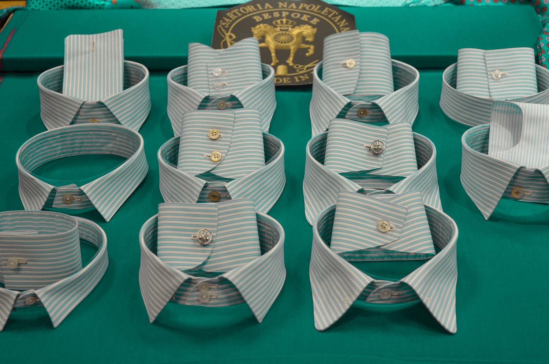 Ferruccio Milanesi collar and cuffs